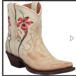 Dan Post Cowboy Boots Embroidered 8.5